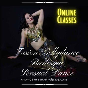 Fusion Bellydance Burlesque Sensual Dance (1)
